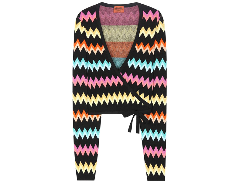 mytheresa.com x Missoni Activewear Knitted Wrap Top