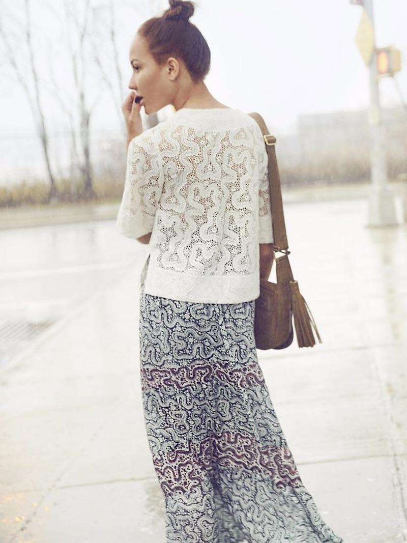 A.L.C. Suarez Silk Skirt