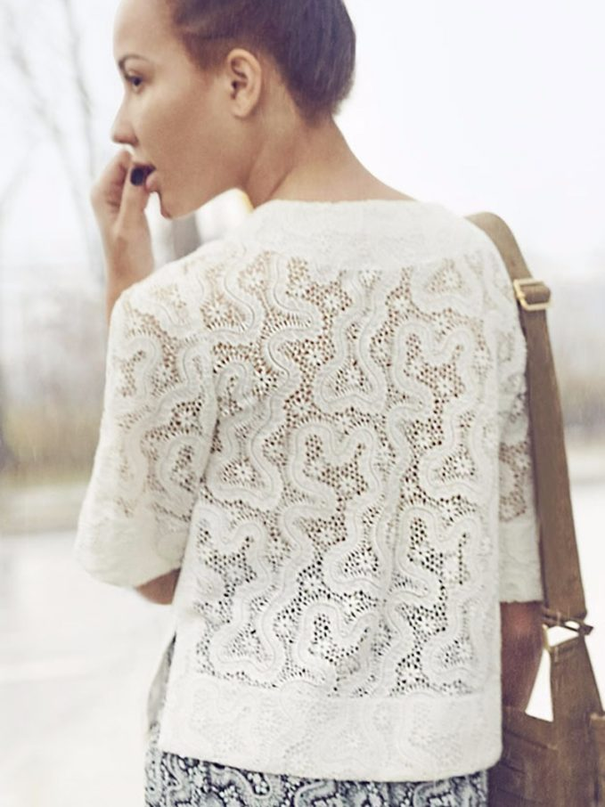 A.L.C. Virginia Lace Top