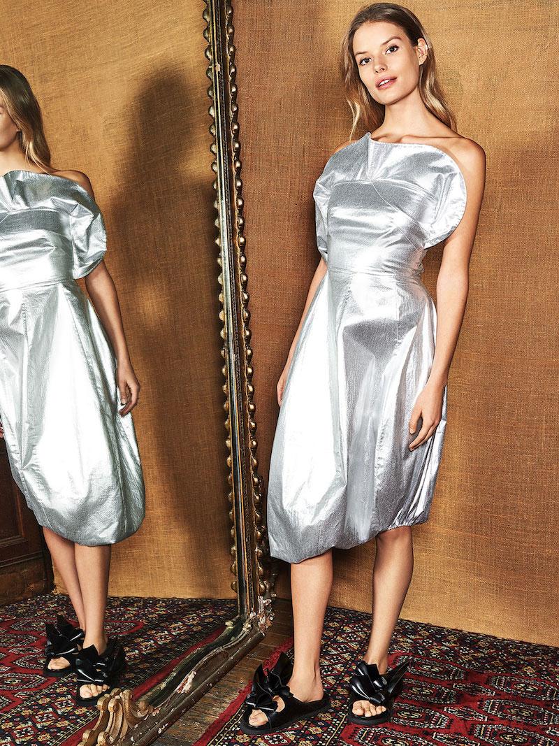 A.W.A.K.E. Frill Dress