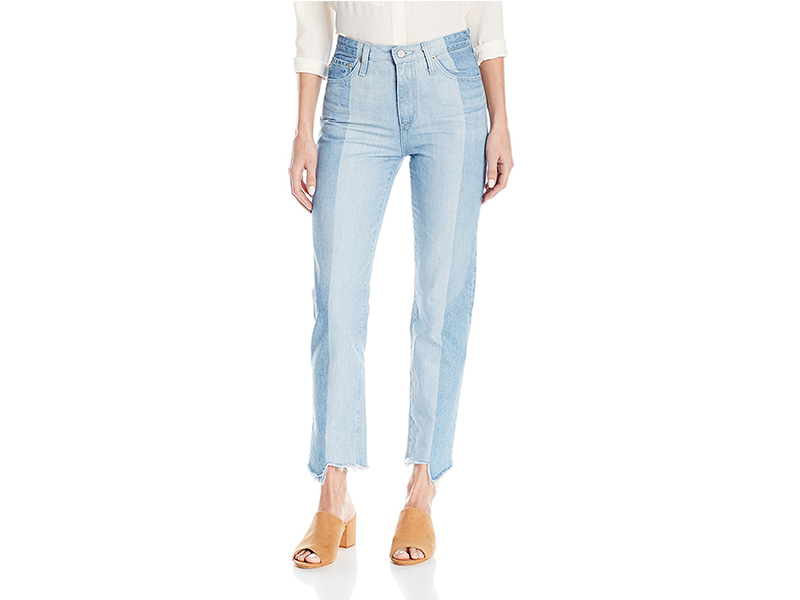 AG Adriano Goldschmied Phoebe Vintage High-Waist Patchwork Jean