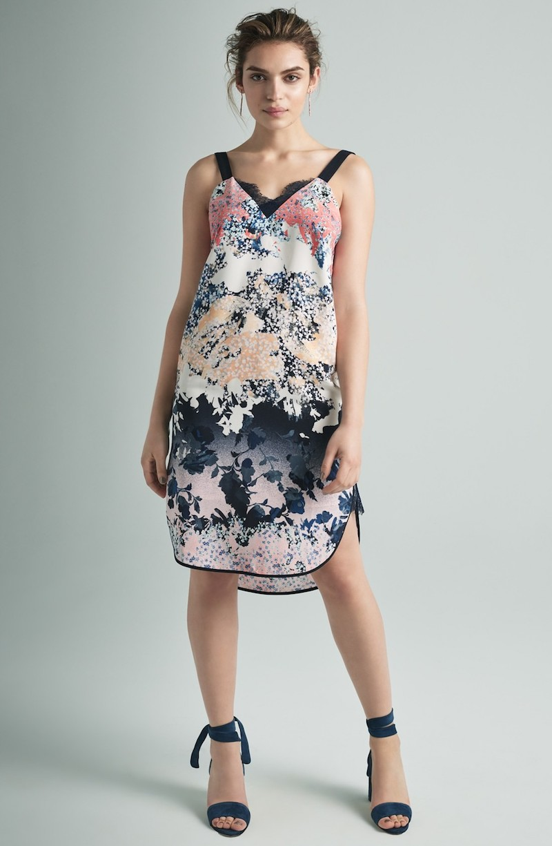Adelyn Rae Floral Shift Dress