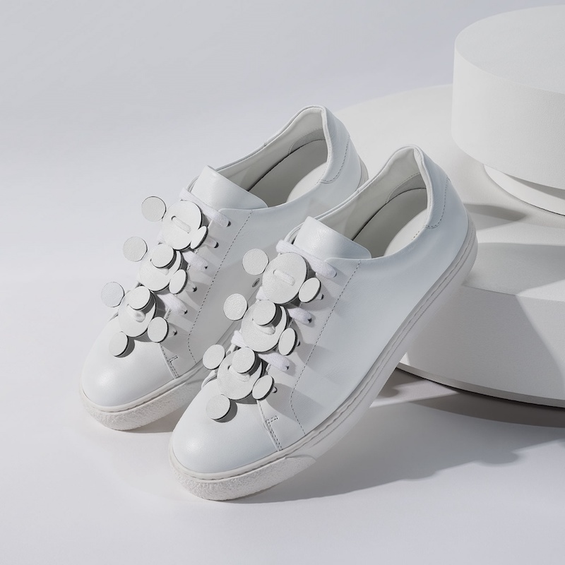 Anya Hindmarch Apex Low-Top Leather Trainers