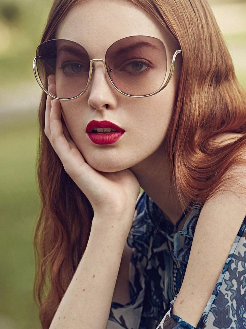Chloé Milla 64MM Oversize Butterfly Sunglasses