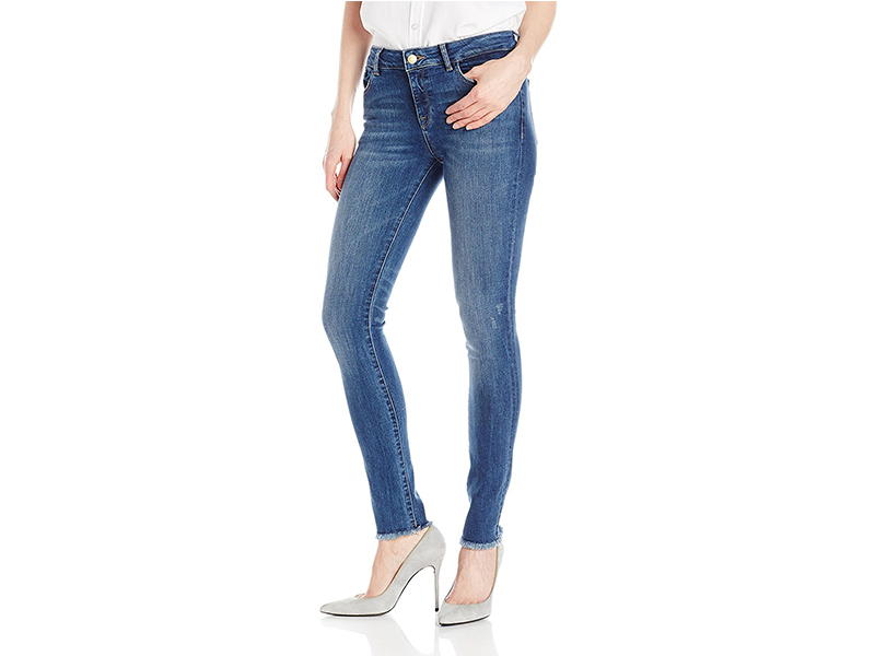 DL1961 Florence Instasculpt Skinny Jeans in Wicked