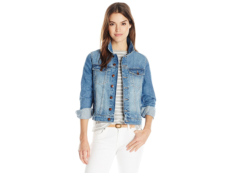 DL1961 Maddox Boyfriend Jacket in Graphic
