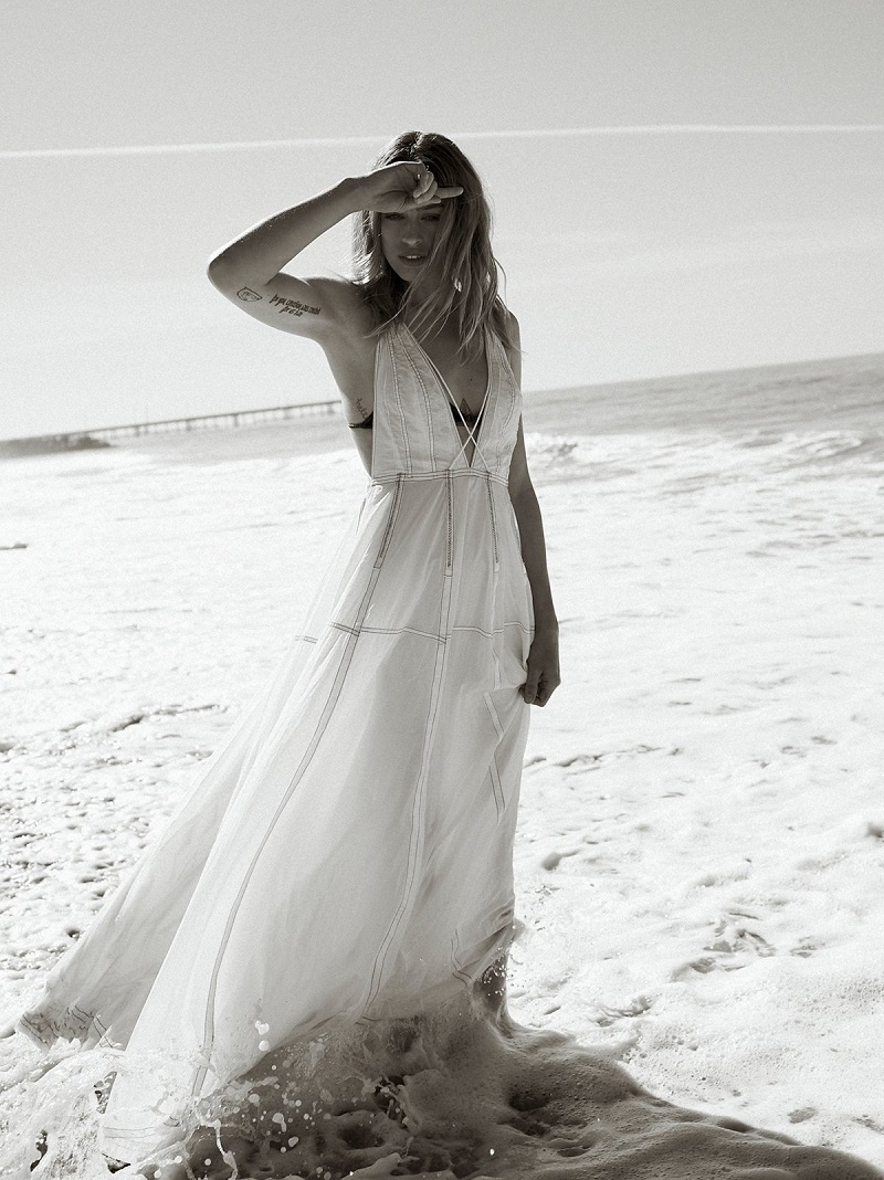 Free People Danas Limited Edition White Gown