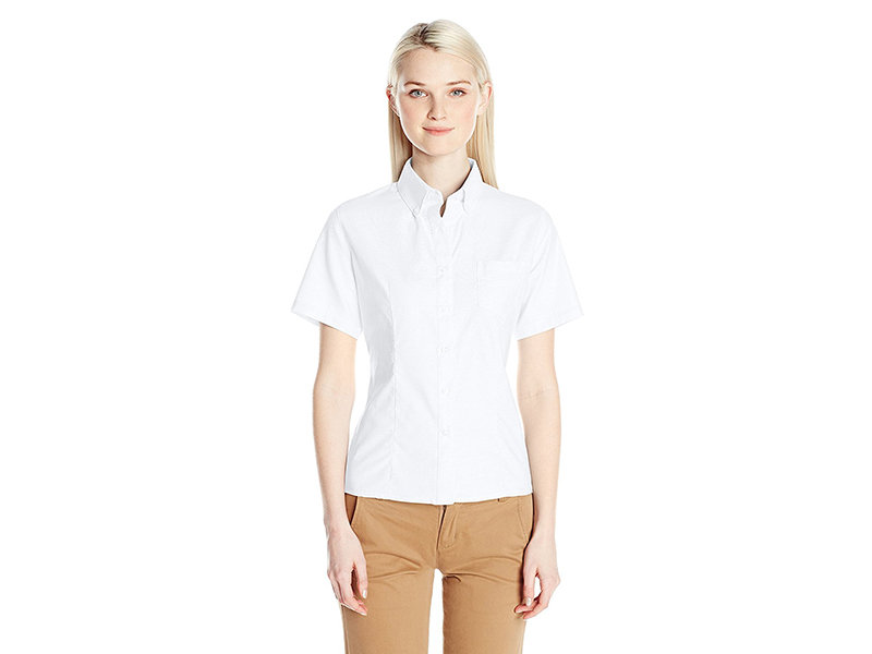 French Toast Short Sleeve Oxford Shirt