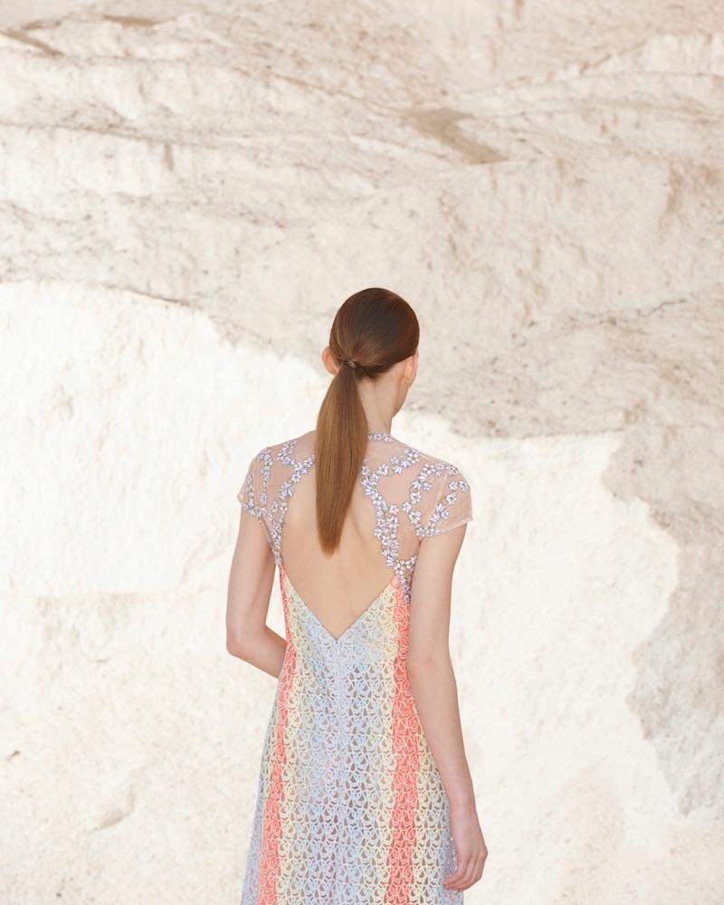 Gabriela Hearst Putman Guipure-Lace Open-Back Dress