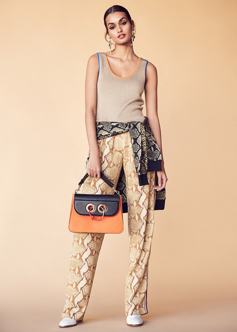 Givenchy Snakeskin Printed Trouser
