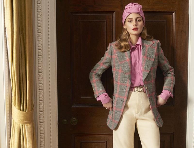 Gucci Appliquéd checked wool-blend tweed blazer