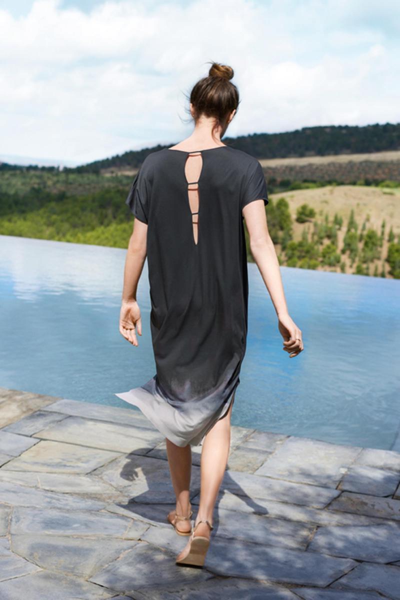 Hanro Amelie Caftan Nightgown