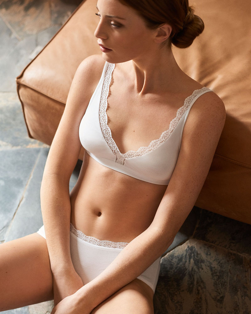 Hanro Maja High-Cut Bikini Briefs