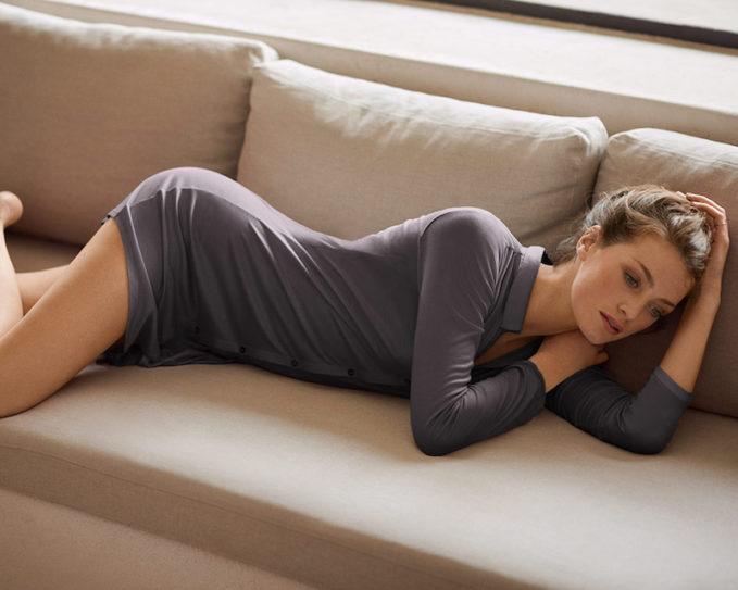 Hanro Stella Crop Pajama Set 1