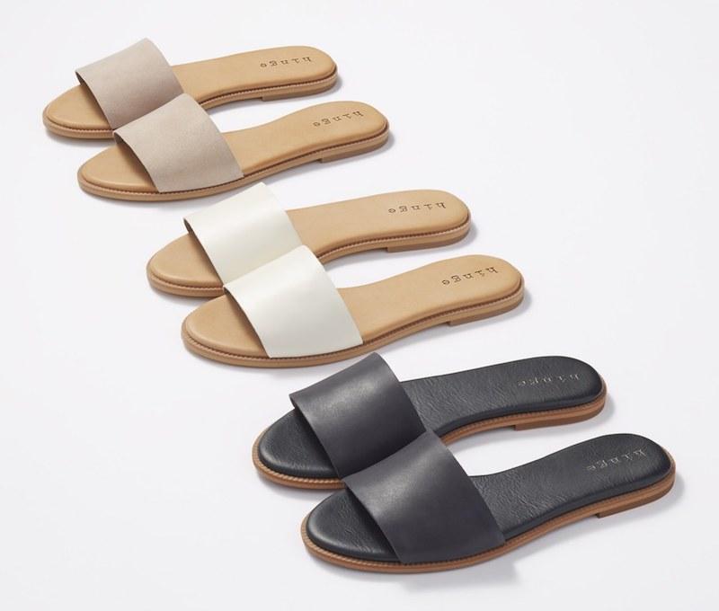 Hinge Mere Flat Slide Sandal