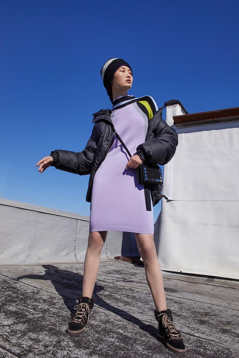 Ienki Ienki Michelin Belted Puffer Jacket-