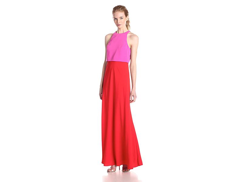 Jill Jill Stuart Popover Two-Tone Gown