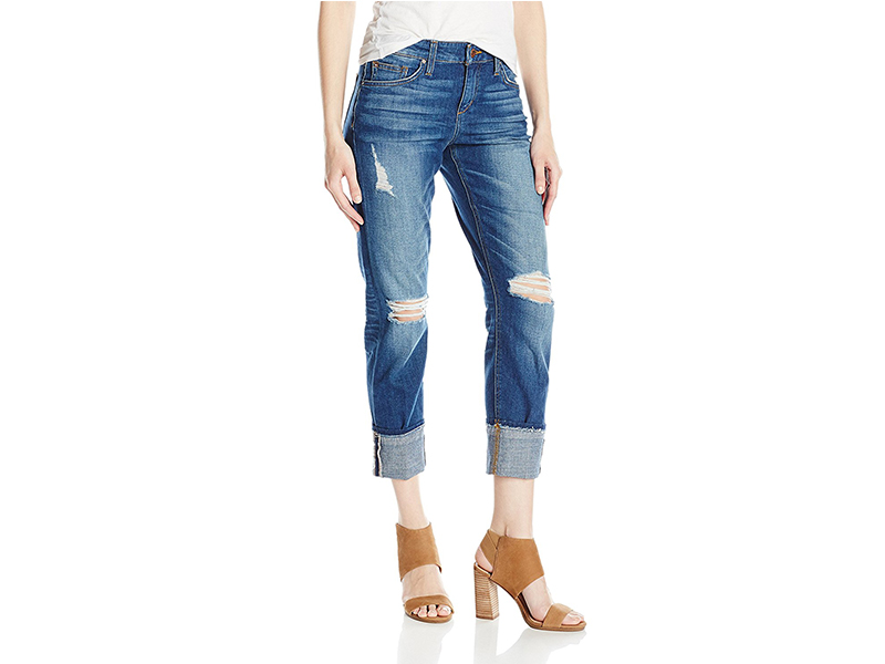 Joe's Jeans Ex-Lover Boyfriend Crop Jean in Ditta