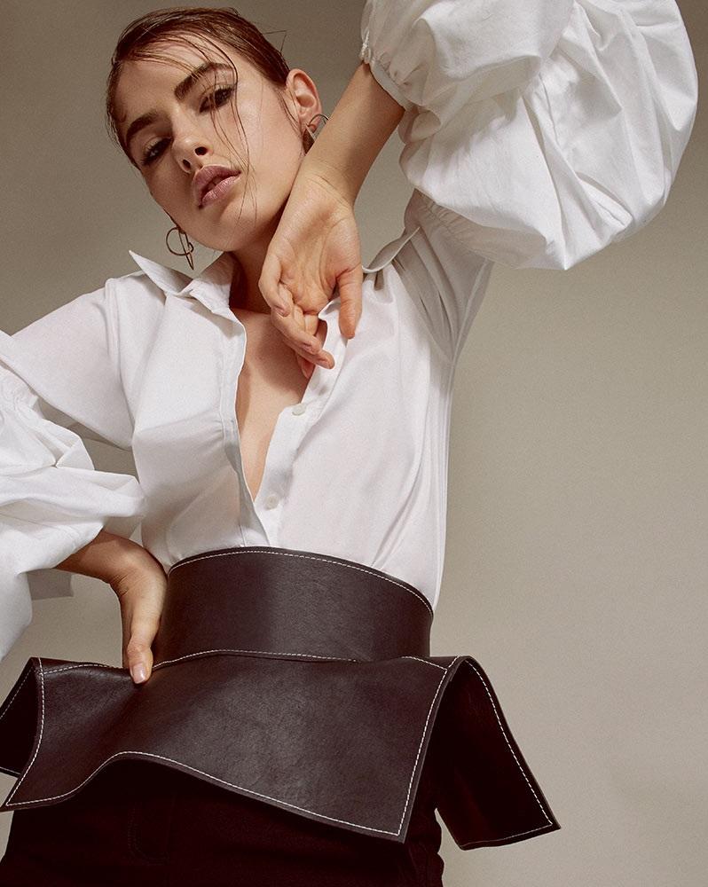 Johanna MO Exclusive San Isidoro Puff Sleeve Top