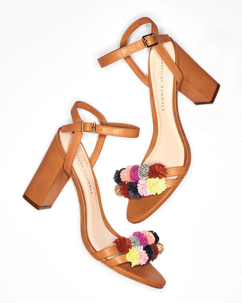 Loeffler Randall Layla Pompom City Sandal