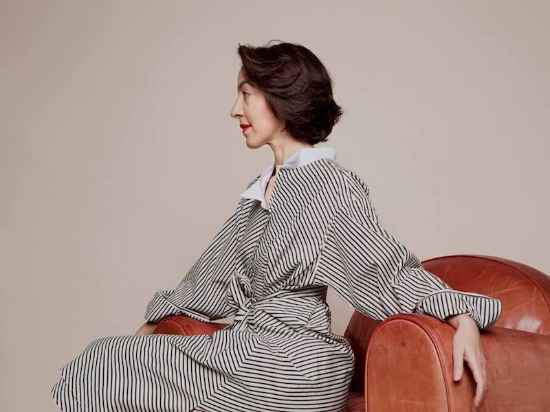 Loewe Asymmetric Striped Cotton Shirtdress