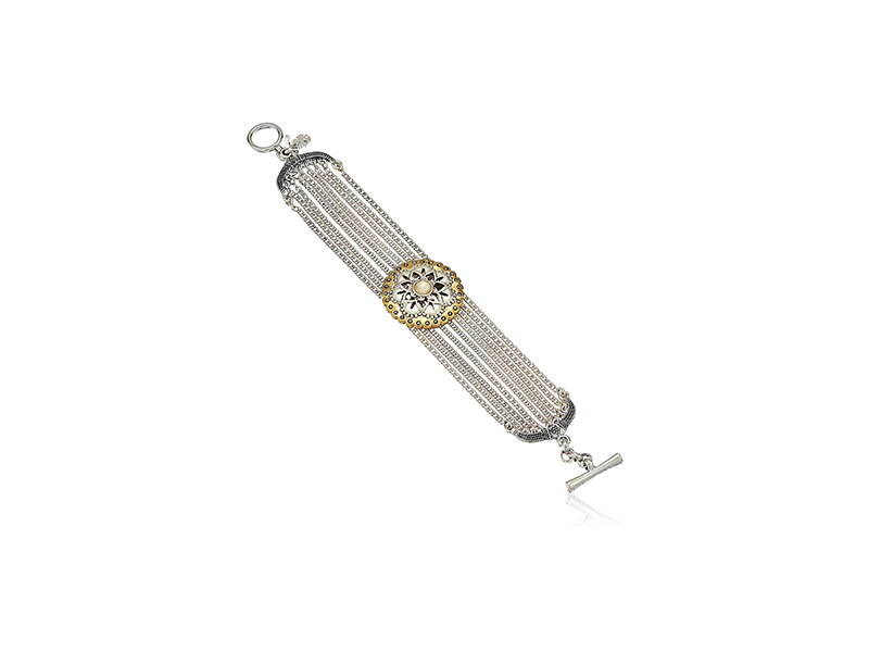 Lucky Brand Floral Stranded Bracelet