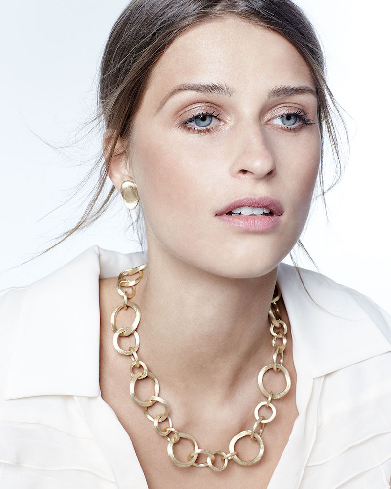 Marco Bicego Jaipur 18k Gold Link Necklace
