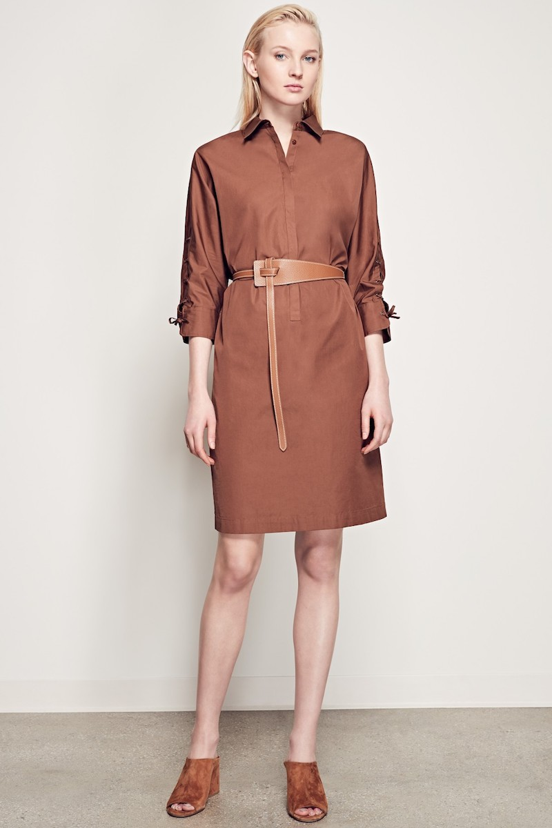 Max Mara Osanna Cotton Poplin Dress