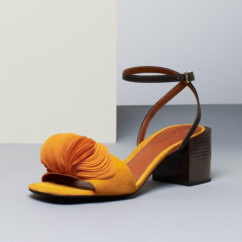 Mercedes Castillo Riza Block Heel Sandal