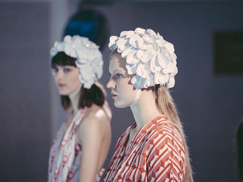 Miu Miu x mytheresa.com Printed Crêpe Wrap Dress