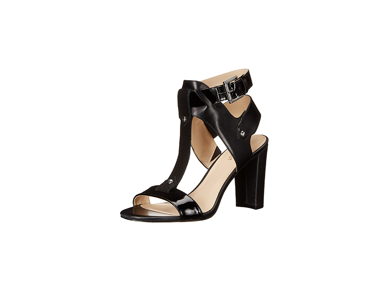 Nine West Naela Leather Heeled Sandal