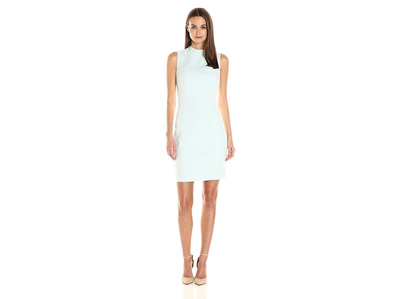 Rachel Rachel Roy Jackie High Neck Sheath Dress