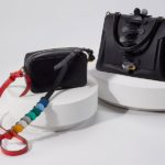 Rainbow Circle Mini Leather Cross-Body Bag