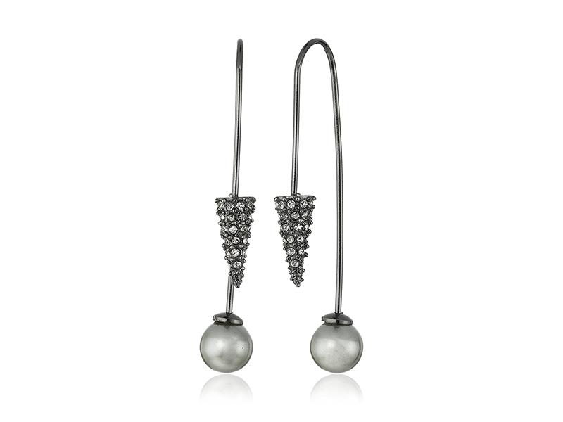 Rebecca Minkoff Cone Hardwire Threader Earrings
