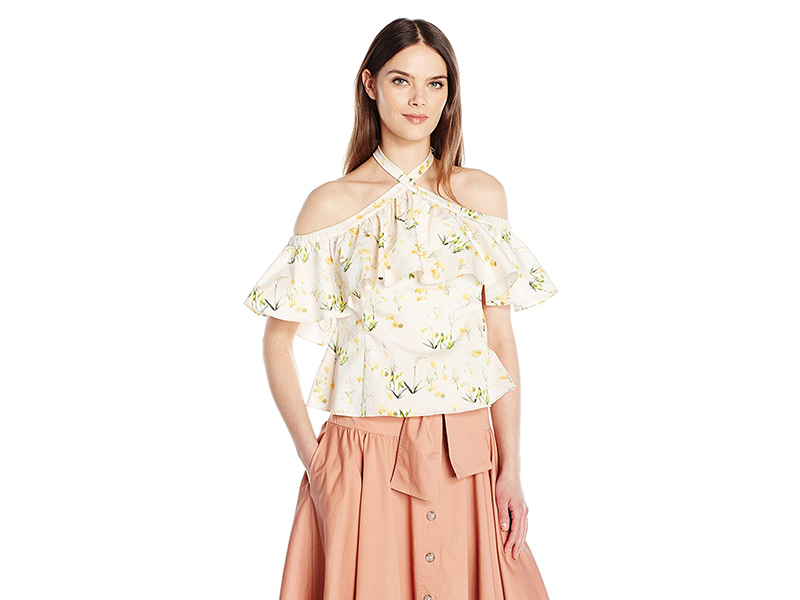 Rebecca Taylor Os Firefly Flr Top