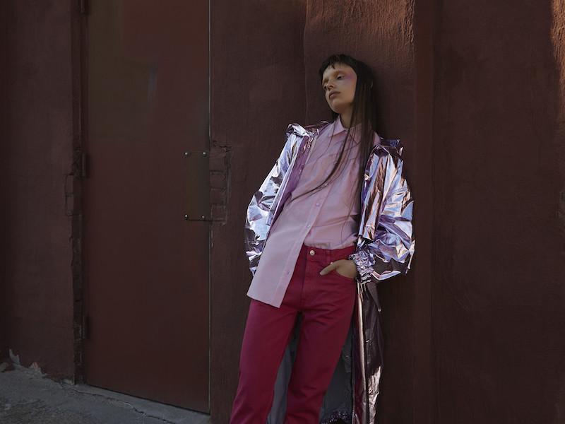 Sies Marjan Pink Sander Shirt