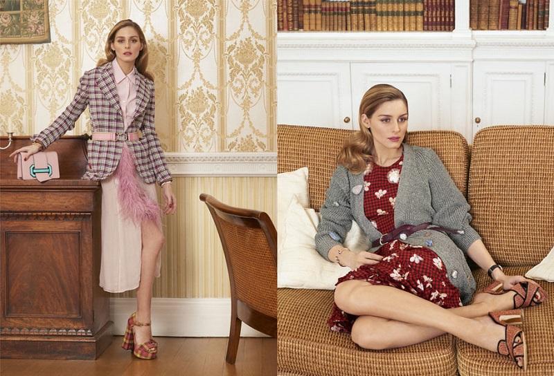 Simone Rocha Ruffled asymmetric printed silk midi dress