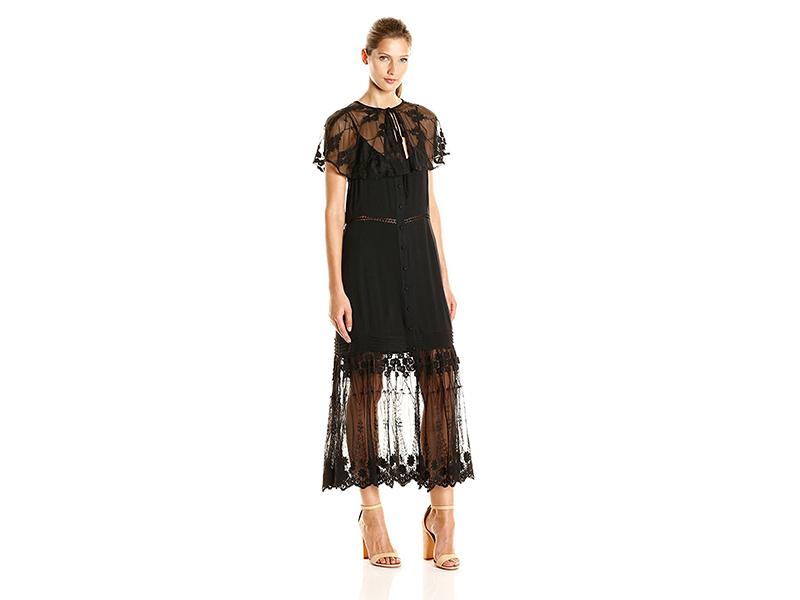 Somedays Lovin Marlowe Midi Kimono Lace Dress