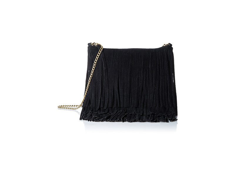 T-Shirt & Jeans Triple Layer Fringe Convertible Cross Body