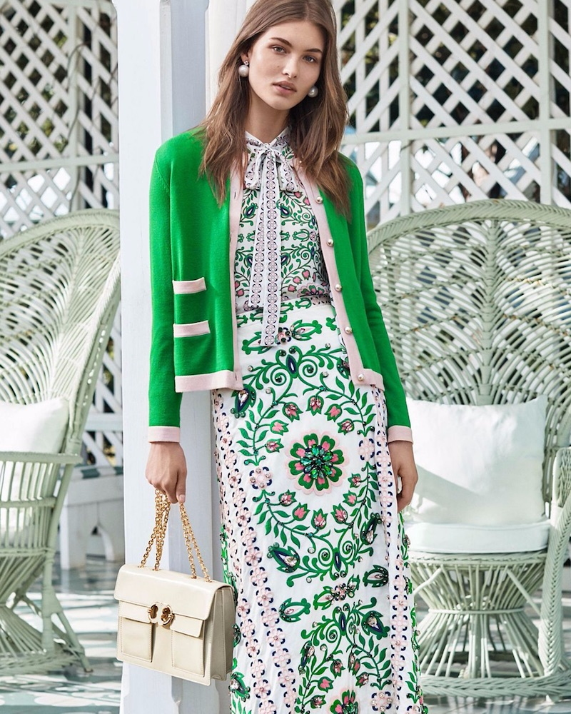 Garden Party: Tory Burch Spring 2017 Campaign – NAWO