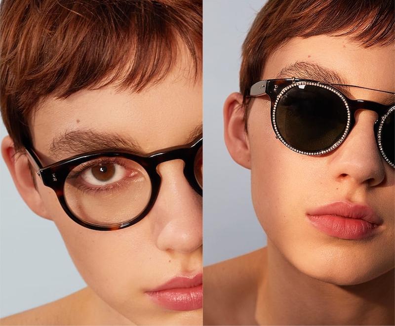 Valentino Havana Va4009cb Round-Frame Sunglasses