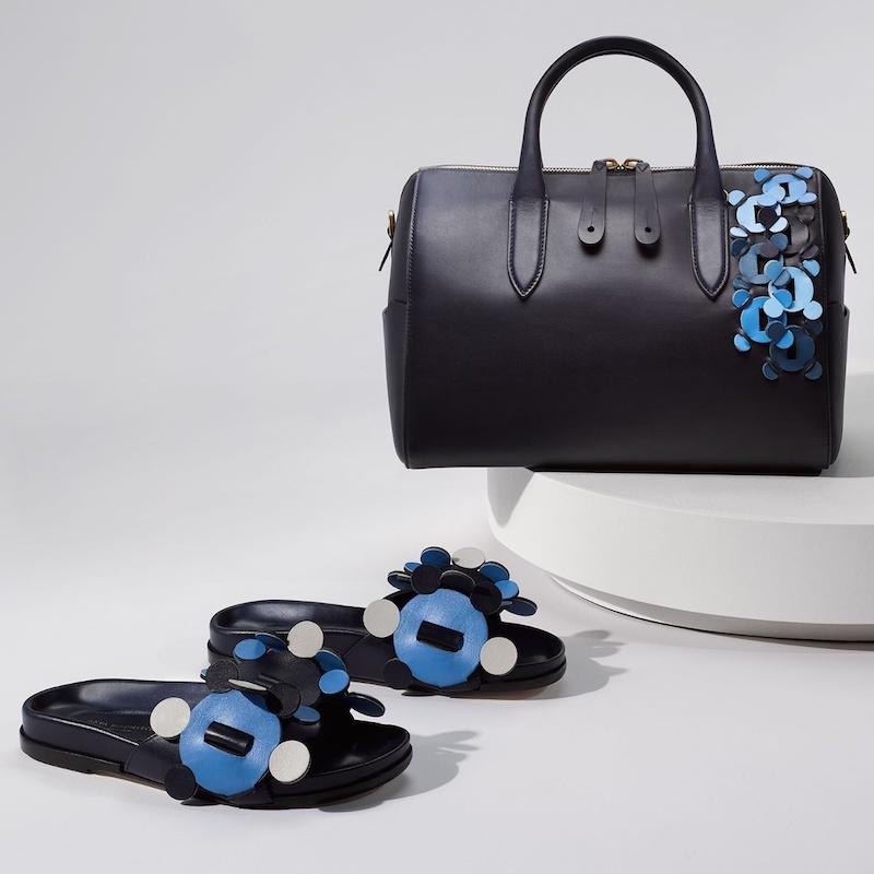 Anya Hindmarch Vere Barrel Rainbow Leather Bag