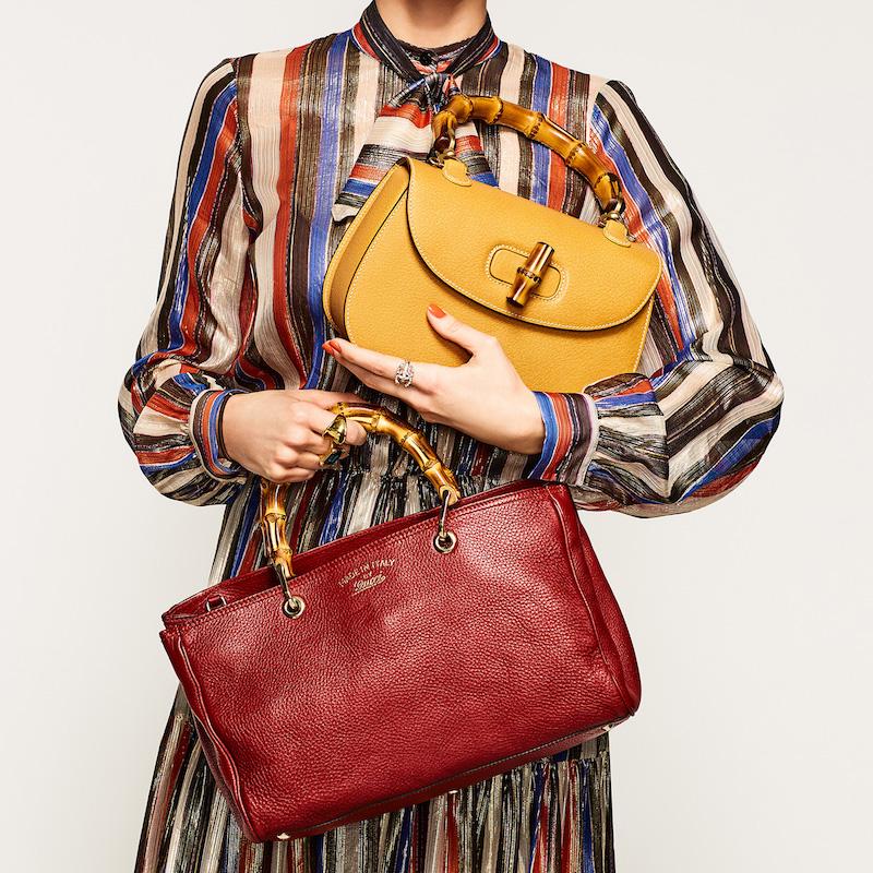 What Goes Around Comes Around Gucci Bamboo Handbag