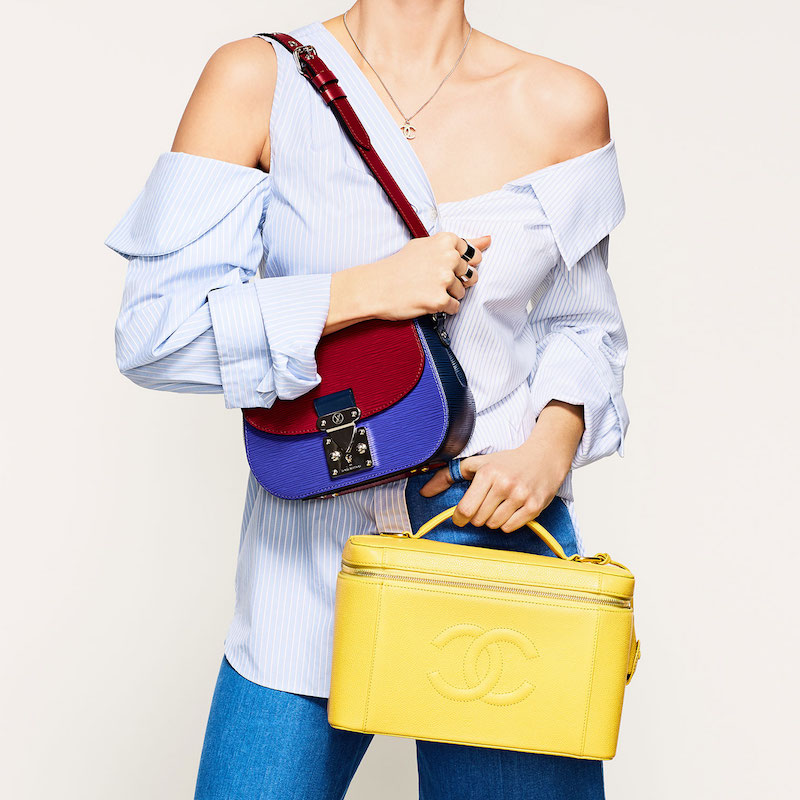 What Goes Around Comes Around Louis Vuitton Epi Eden Bag
