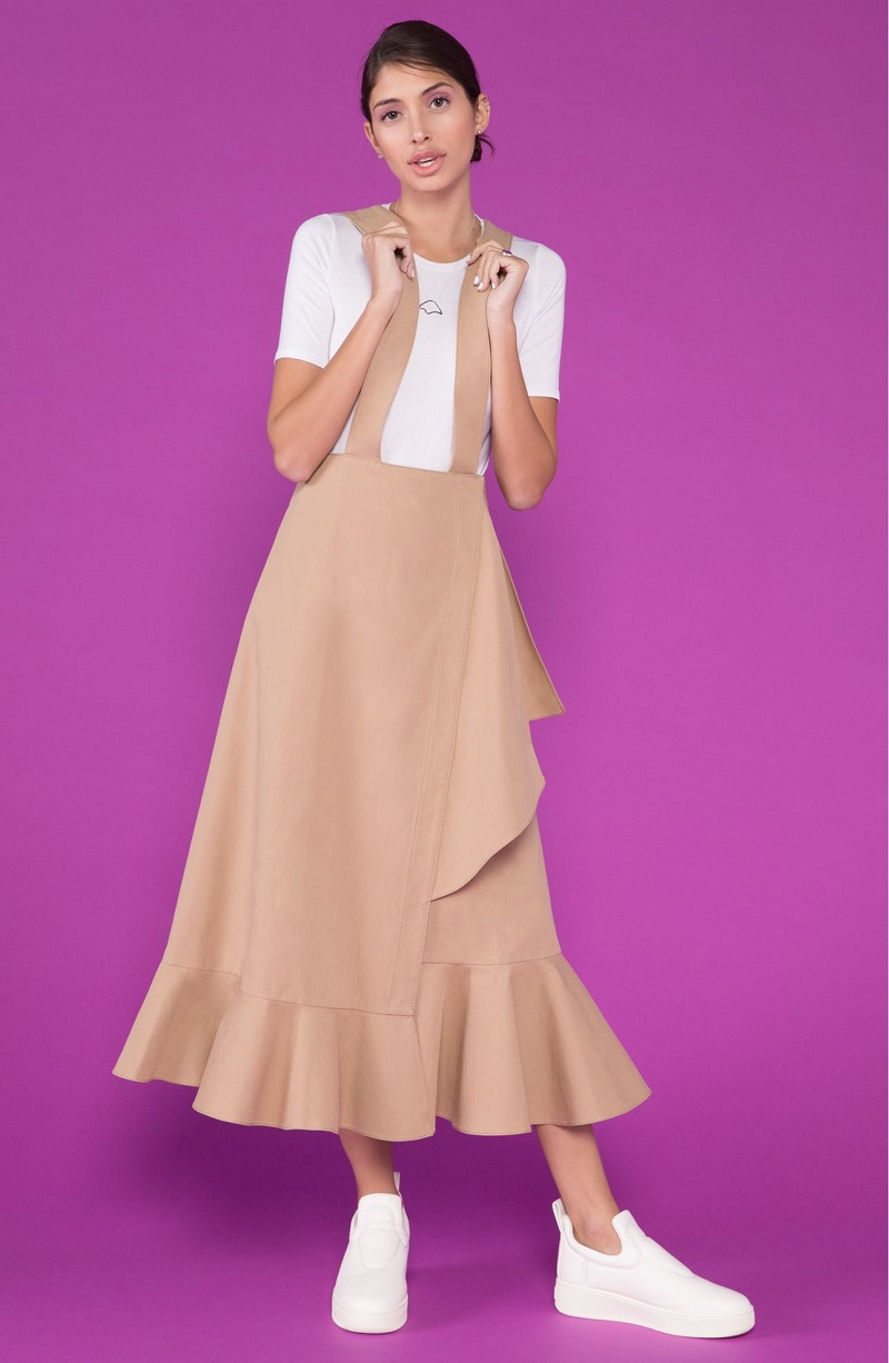 Yune Ho Jacqueline Convertible Jumper Dress