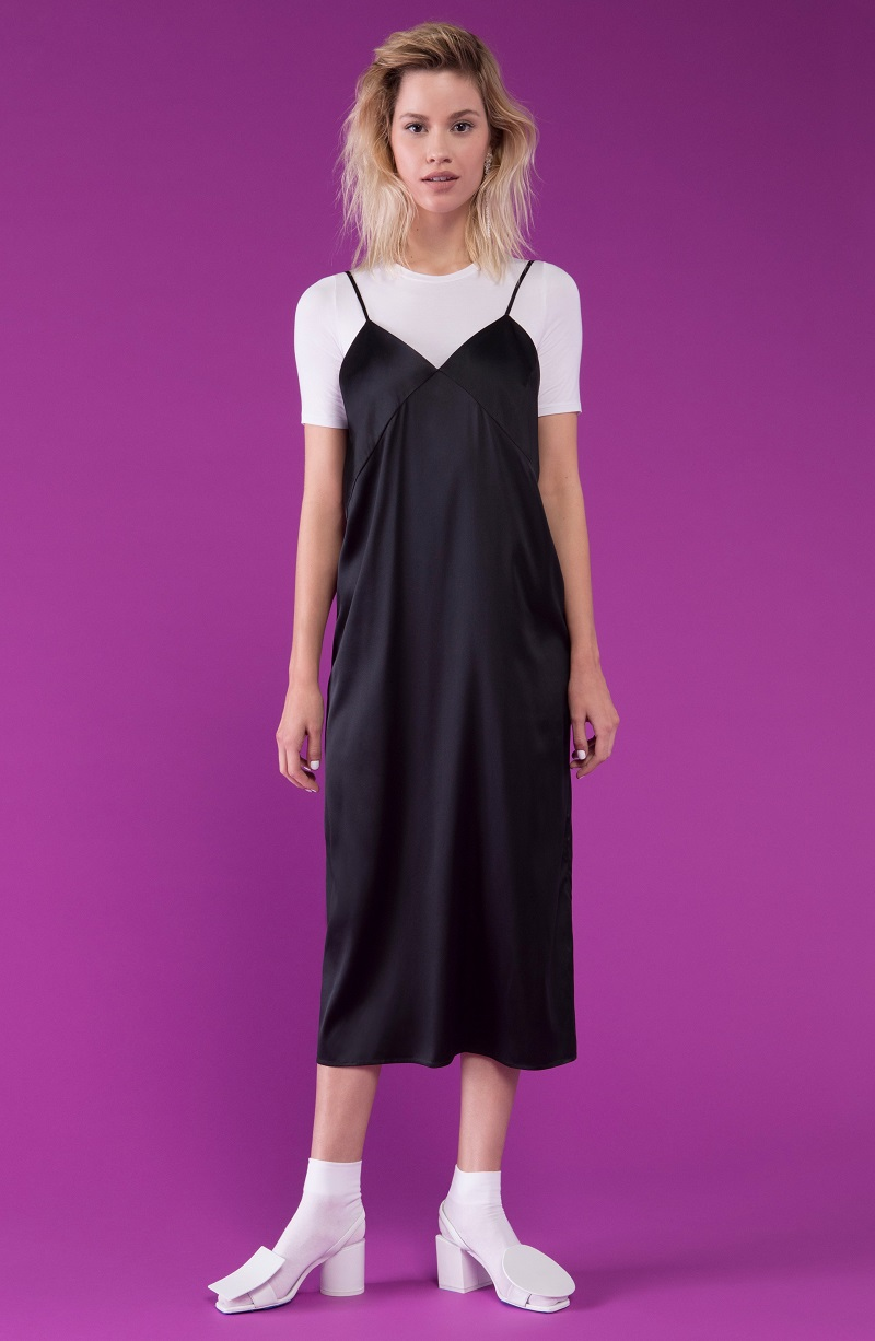 Yune Ho Pina Silk Camisole Dress