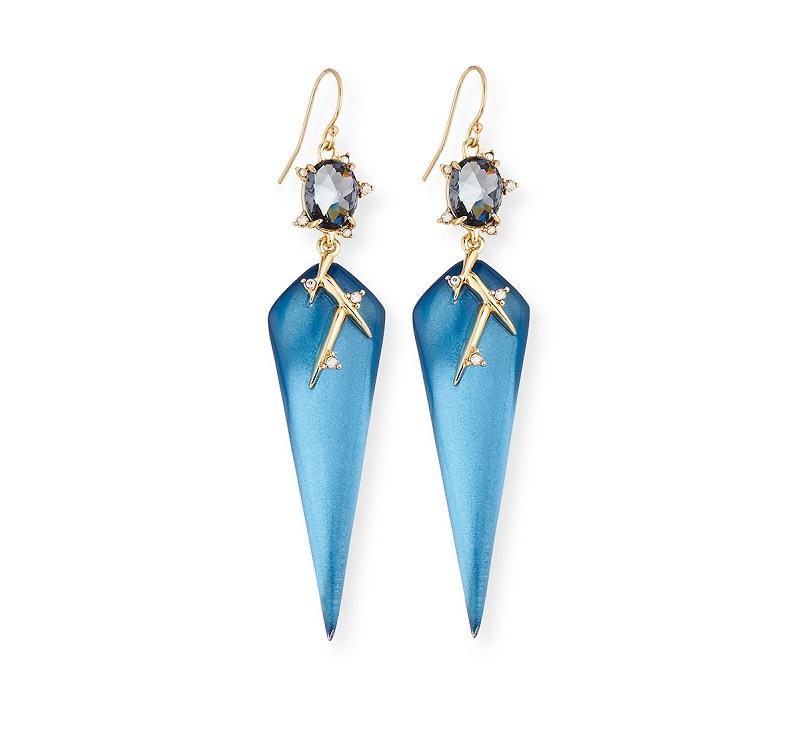 Alexis Bittar Lucite Thorn Drop Earrings