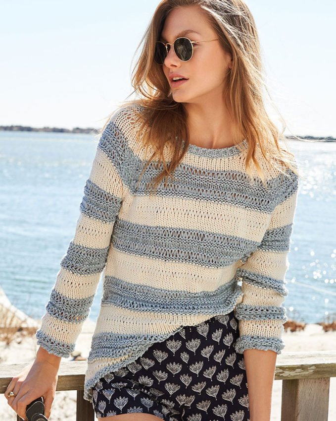 BB Dakota Harrington Striped Sweater