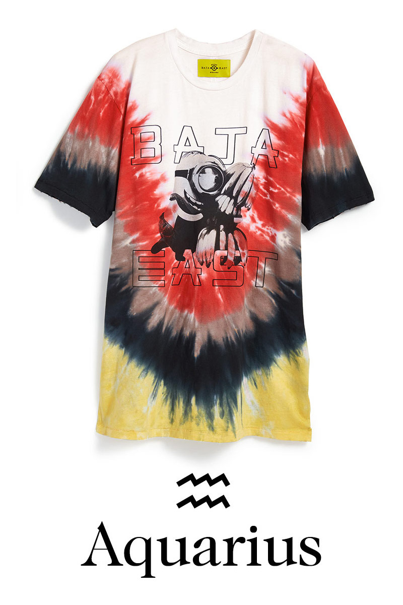 Baja East x Minions Tie Dye T-Shirt