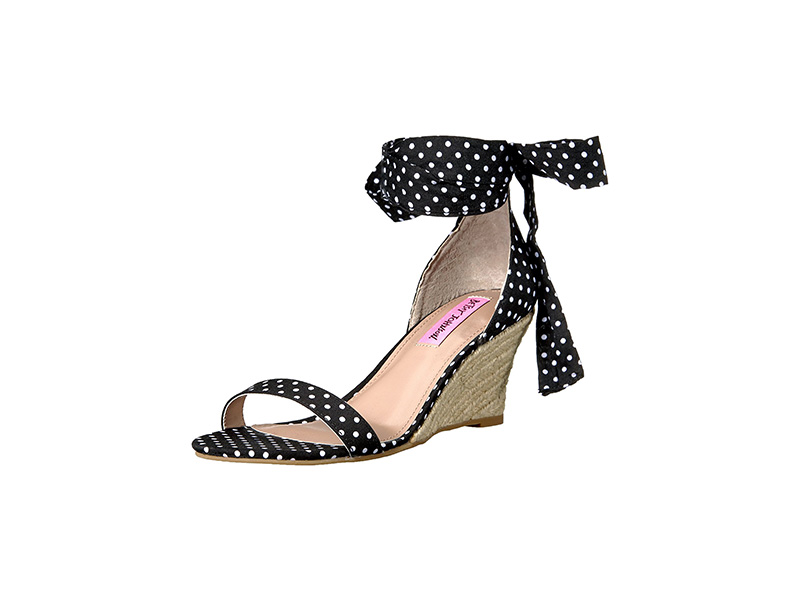 Betsey Johnson Jemi Espadrille Wedge Sandal